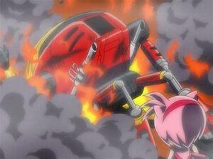 Gamma's destruction.