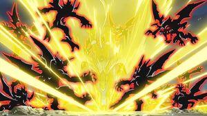 Pegasusmon vs Vilemons