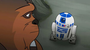R2 and Chewie - Forces of Destiny