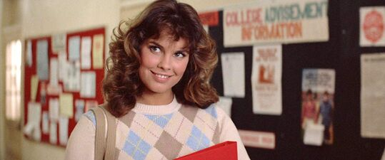 Alexandra Paul as Leigh Cabot in Christine 97