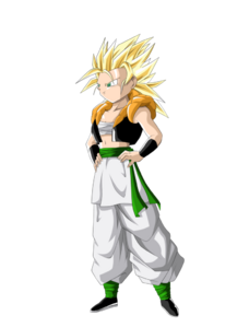 Bran ssj2 render by metamine10-d5jcoa3