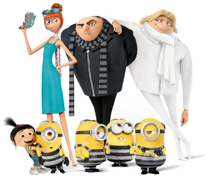 Gru and his team