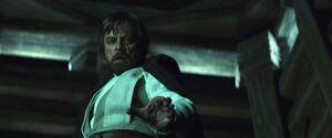 Luke senses darkness within Ben