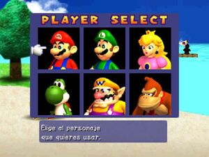 Mario party 64 all characters 3