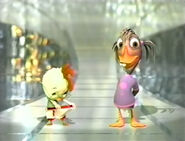 Chicken Little and Abby at Oscars 2006