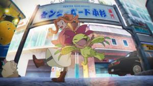Digimon Mind Game - Mimi and Palmon