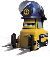 Rake from Planes fire and Rescue
