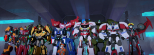 Bee Team and Optimus' All-Stars Team are now Heroes