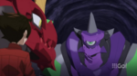 Dan and Drago meeting Ninjiton