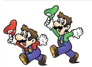 Mario and Luigi smb2