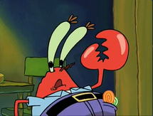 Mr. Krabs busted