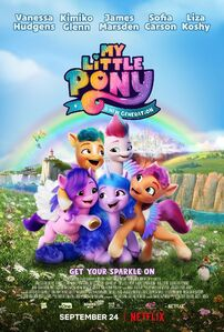 My Little Pony A New Generation 'Get Your Sparkle On' poster