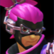 Pink and purple ninjara win icon