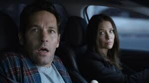 Scott and hope in the car