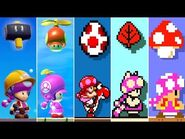 Super Mario Maker 2 - All Toadette Power-Ups