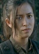 Christian Serratos as Rosita Espinosa in The Walking Dead S06E14
