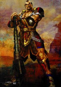 Dynasty Warriors 4 Artwork - Huang Gai