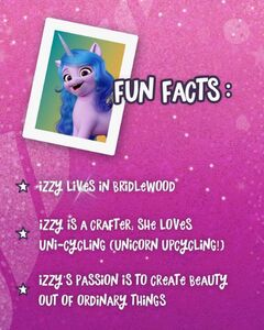 MLP A New Generation - Izzy's Fun Facts
