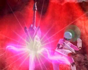 Savage sword shatters