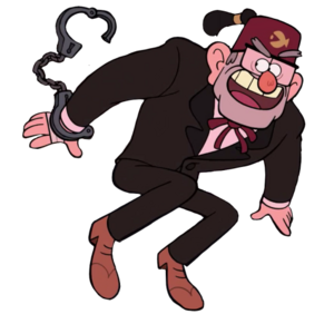 Stan with cuffs