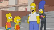 The Simpsons in The Star of the Backstage
