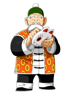 Grandpa gohan unmasked by orco05-d5ed4n8.png