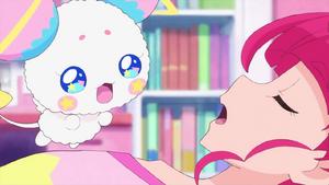 STPC18 Fuwa asks where Hikaru's father is