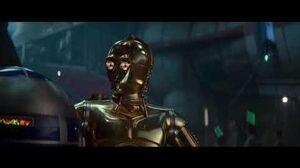 Star Wars 9 The Rise Of Skywalker - R2-D2 Restores C-3PO Memory Scene HD