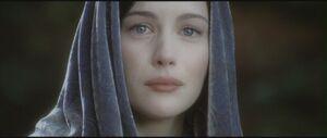 Arwen sees her child