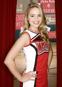 Dianna Agron as Quinn Fabray in Glee 1