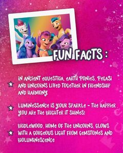 MLP A New Generation - G5's Fun Facts