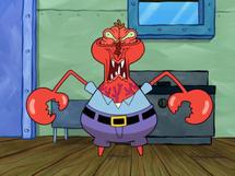 Mr Krabs Face Freeze