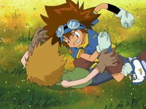 Taichi fights with Yamato
