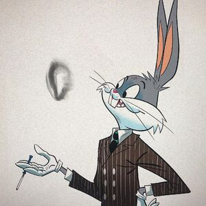 Another artwork of Bugs Bunny by Jamie Hewlett