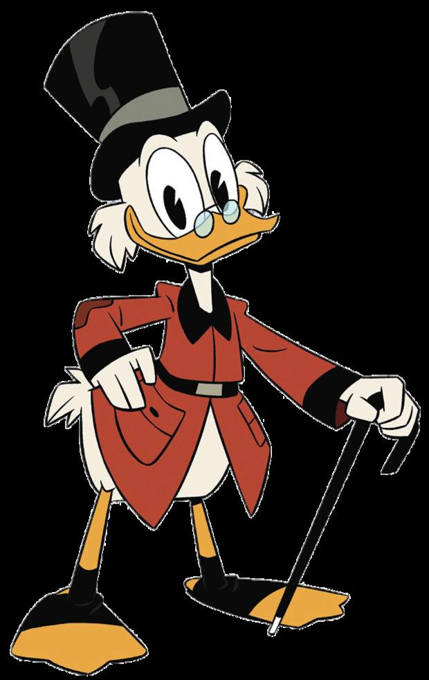Scrooge McDuck (2017) Minecraft Skin
