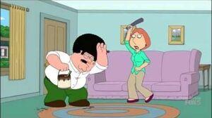Lois beats Peter - Family Guy