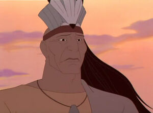 Chief Powhatan in the sequel