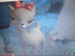 Clarice in the end f Rudolph and the Island of Misfit Toys