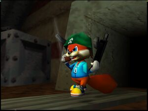 Conker's Bad Fur Day soldier conker