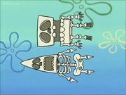 SpongeBob Patrick skeletons