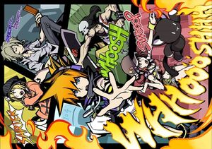 The World Ends with You Art 2