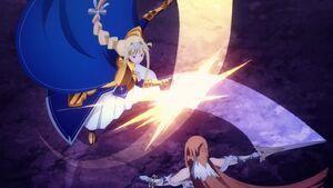 Alice vs Asuna
