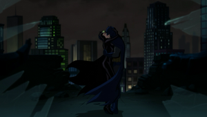 Batman and Catwoman's Kiss