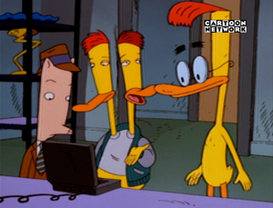 DUCKMAN ON CARTOON NETWORK SPAIN 3