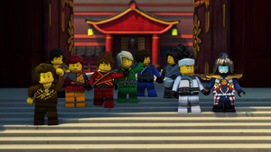 Ninja and Their Friends (Green Destiny)