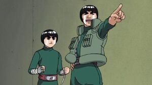 Lee and Guy Naruto P1