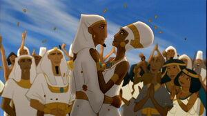 Joseph and Asenath marry