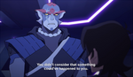 Kolivan speaks to Keith