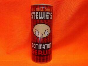 Stewie's Domination Serum Energy Drink