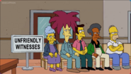 Homer with the witnesses